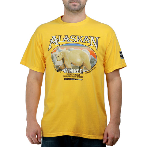 Alaskan White Ale Label Tee