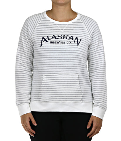 Women's Sunset Stripe Crew