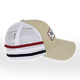 Racing Stripe Trucker Cap