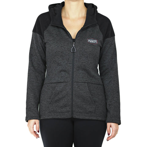 AKB Cross Country Full Zip Hood-Ladies