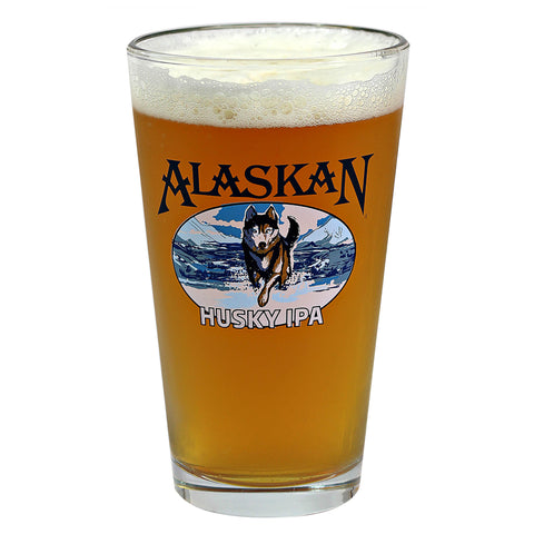 Alaskan Husky IPA Pint Glass