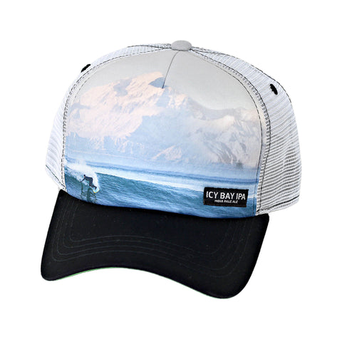 Sublimated Icy Bay IPA Foam Trucker Cap