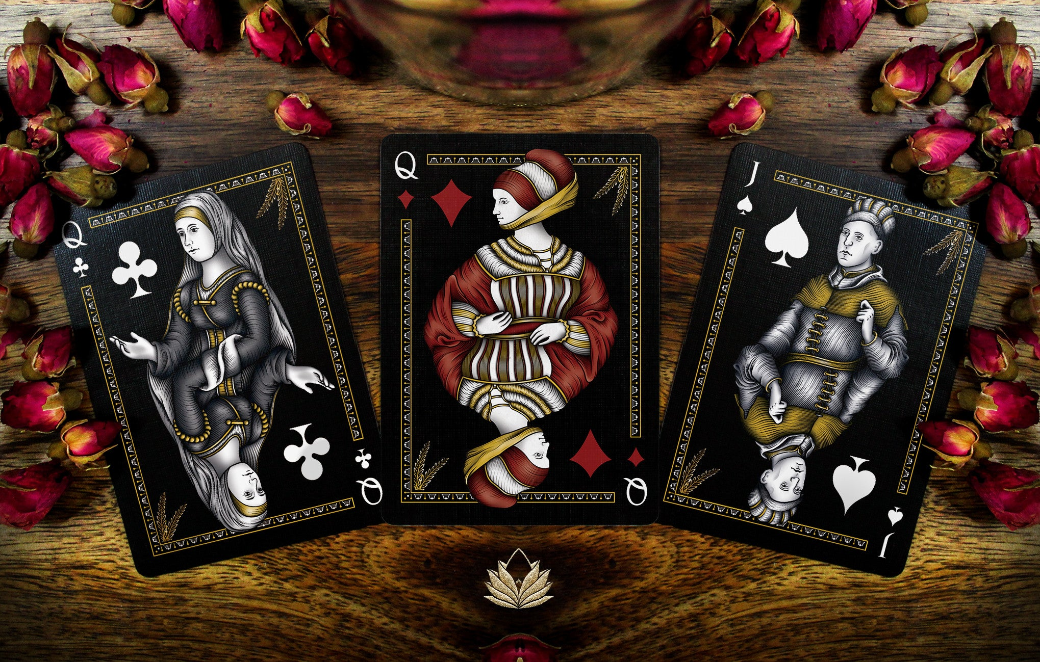 Handcrafted playing cards that inspire ponderings playing cards apothecary collection biocorpaavc Choice Image