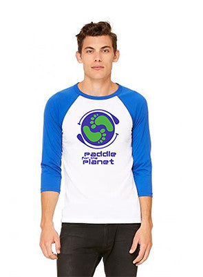 Paddle for the Planet Unisex Baseball Tee