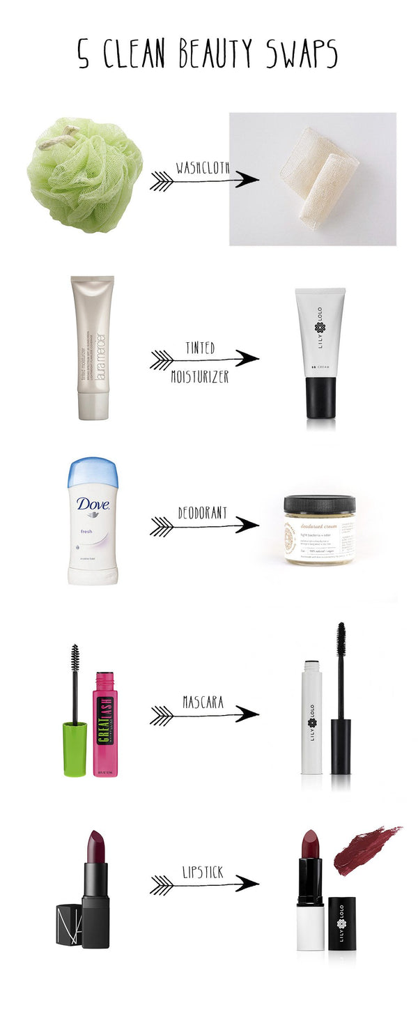 5 Clean Beauty Swaps