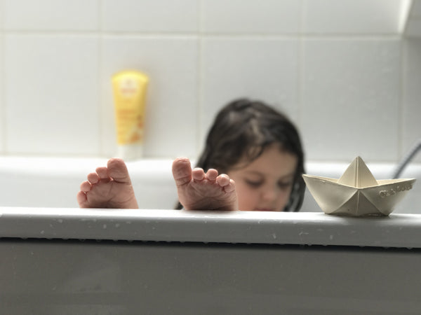 Non-Toxic Baby Bath Time Staples