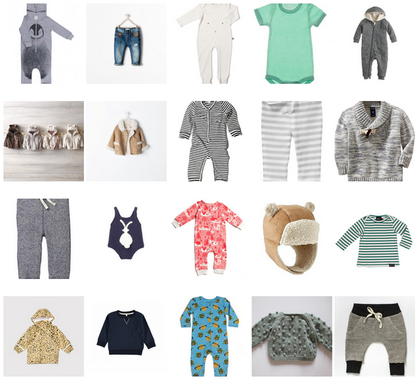 "20 WARES TO GIFT A ""TEAM GREEN"" BABY"