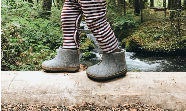 BEHIND THE LABEL: Glerups Wool Baby Boots