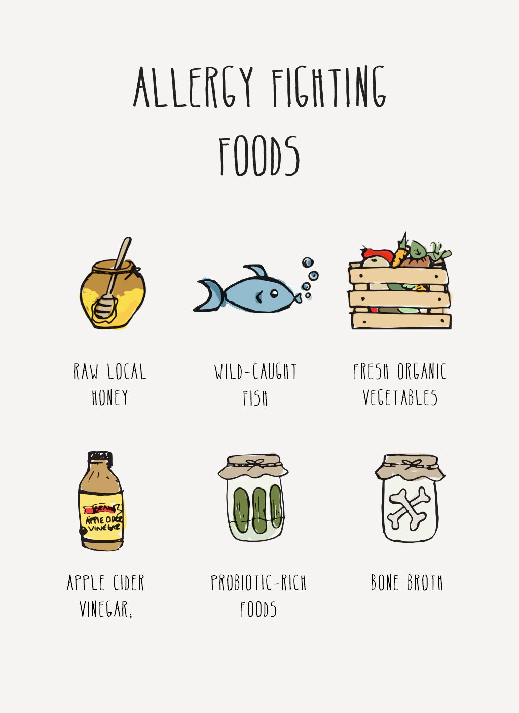 Allergy Relief Foods