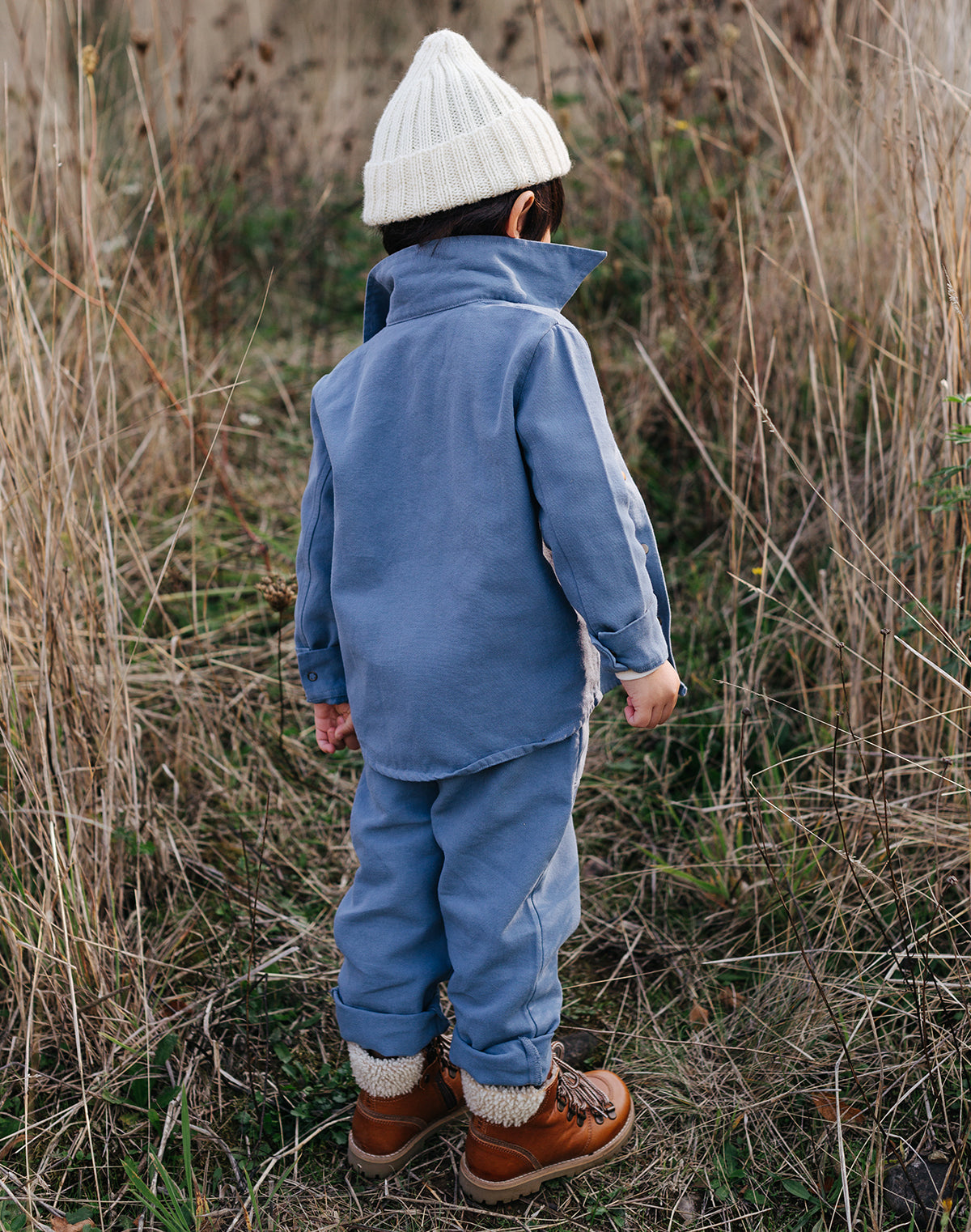Chore Jacket & Chore Pant in Blue Moon