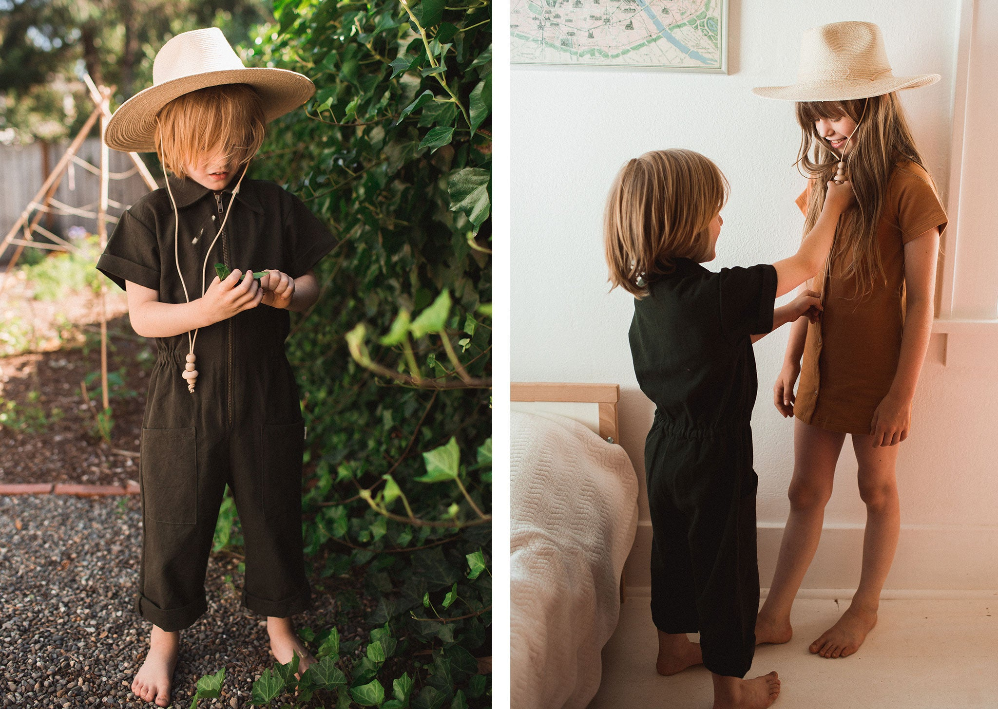 Utility Suit & James Street Dress