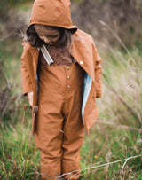 Faire Child Midi Raincoat in Red Oak