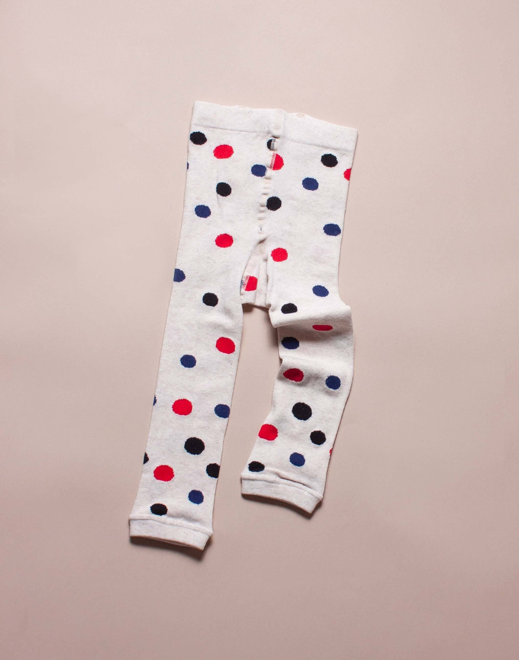 Hansel From Basel Holiday Polka Dot Tights