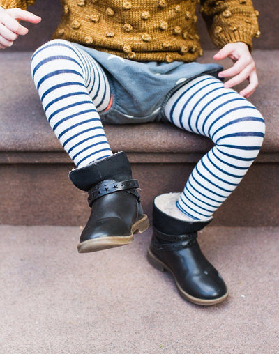 Hansel From Basel Yachtsy Stripe Footless Tights