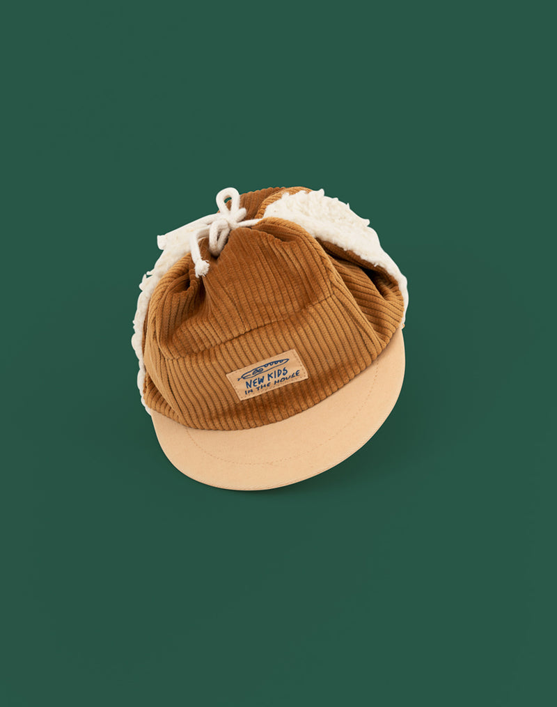 New Kids In the House Robin Cap in Maple