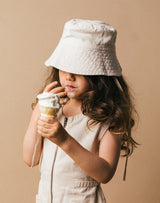 Noble Organic Sun Hat in Oat Milk