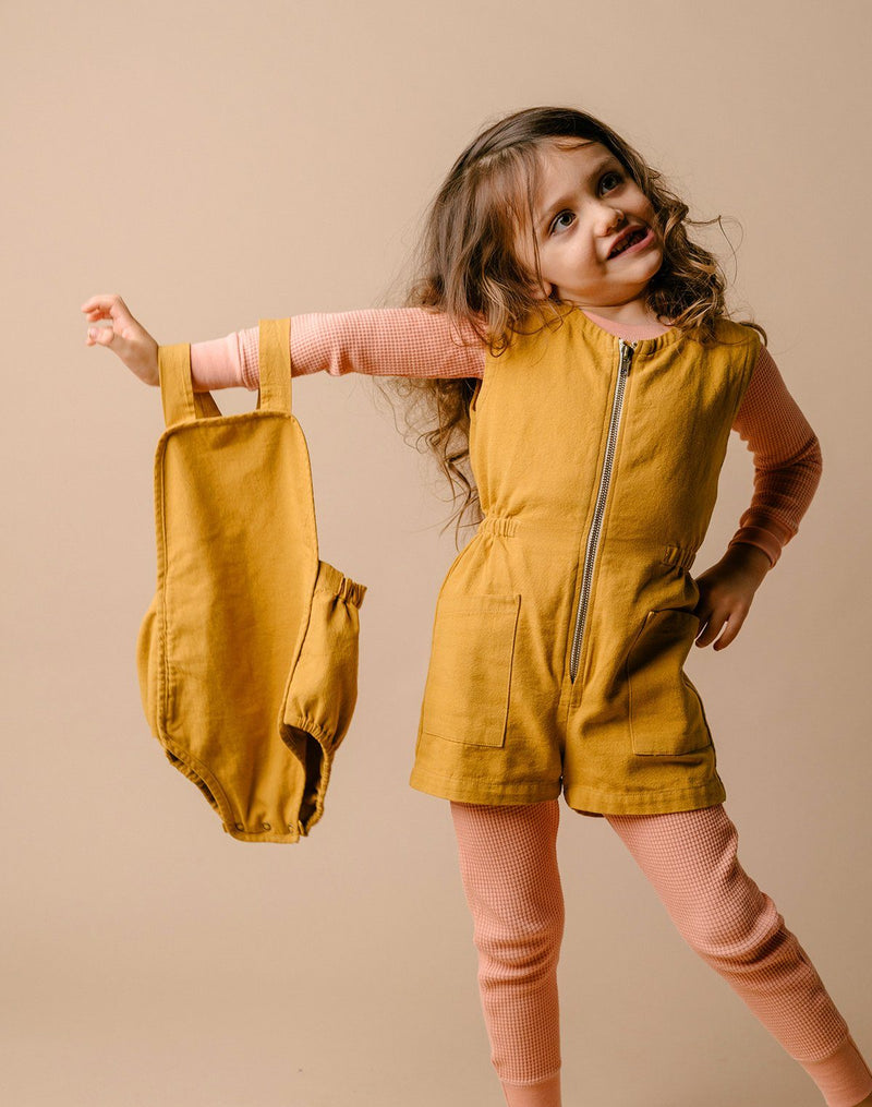 Noble Organic Sun Suit in Turmeric