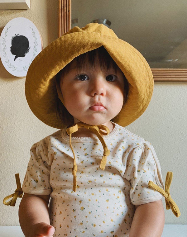 Noble Organic Sun Hat in Turmeric