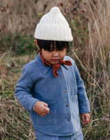 Noble Organic Chore Jacket in Blue Moon