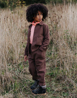 Noble Organic Chore Jacket in Cocoa