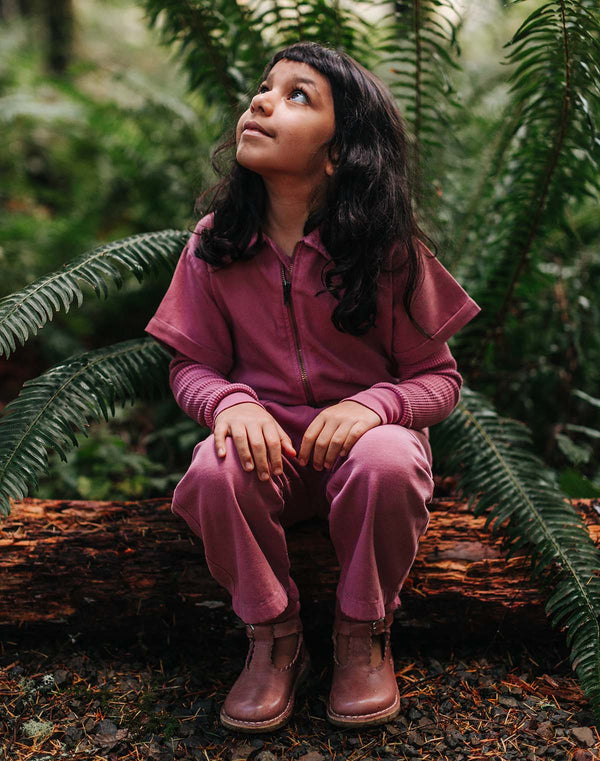 Noble Organic Utility Suit in Elderberry