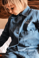 Front Chore Jacket Embroidery