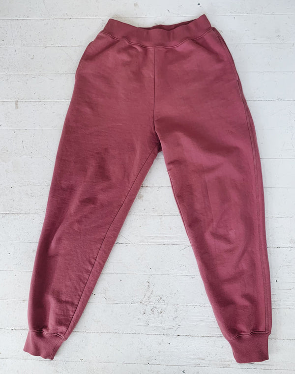 Noble Adult Organic Sweatpants in Elderberry