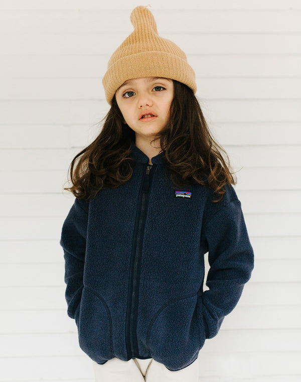 Patagonia Baby Cozy-Toasty Jacket in Navy