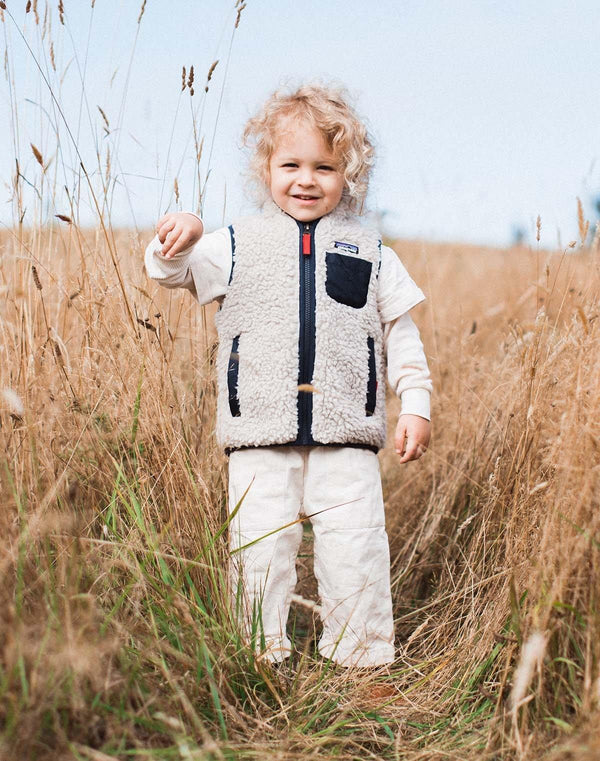 Patagonia Baby Retro-X Vest in Navy