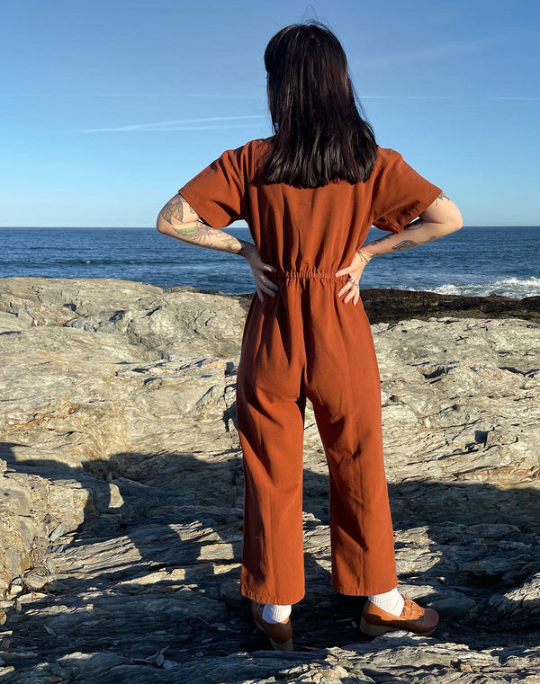 Noble Adult Utility Suit in Cinnamon