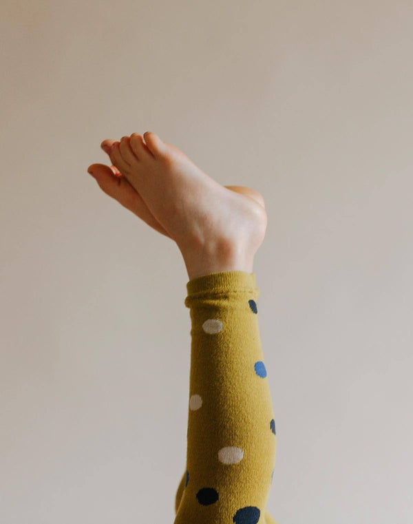 Hansel From Basel Polka Dot Tights