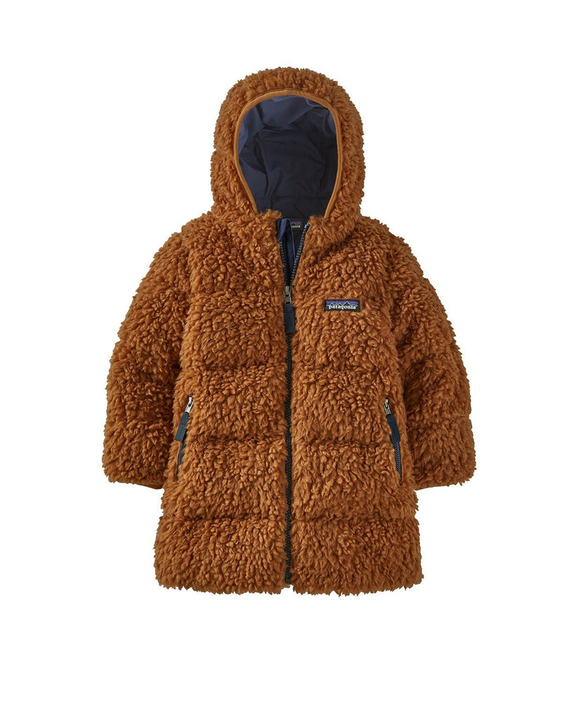Patagonia Baby Recycled Hi-Loft Parka in Umber Brown