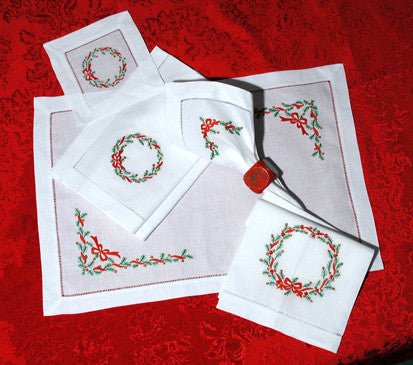 Evergreen Christmas Placemat Set