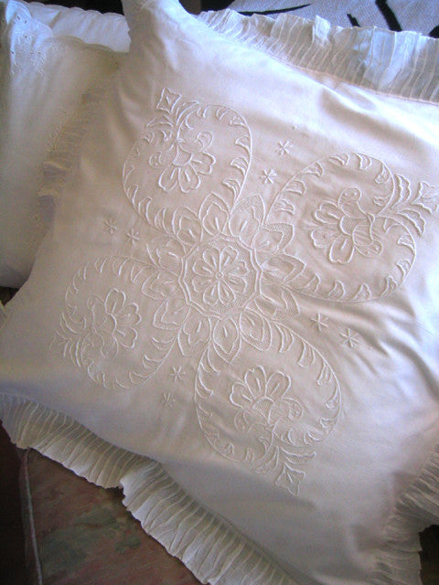 Margaret 26 square pillow sham
