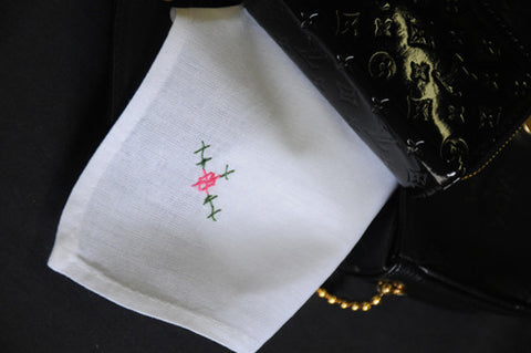 "The Barn x-stitch Handkerchief 13"" Inch"