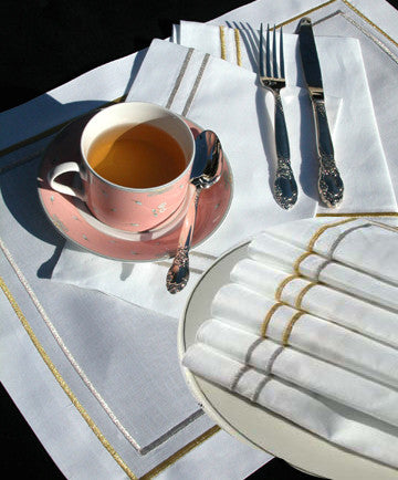 Silver Placemat Set of 4
