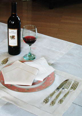 Galloucci Placemat 14x20 White