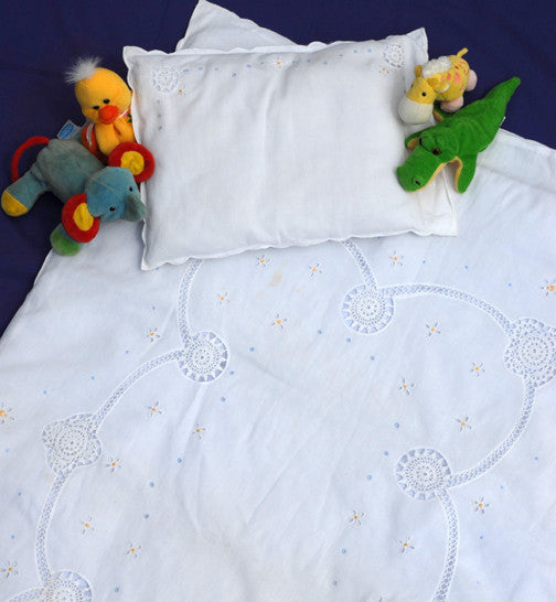 Spring Crib Quilt & Pillow Set