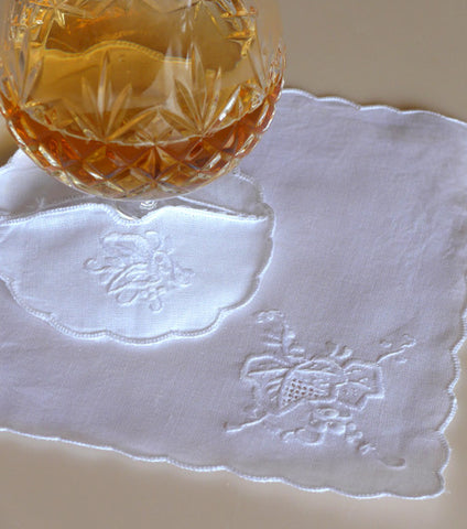 "Sweet Magnolia cocktail napkin 7"" Inch"
