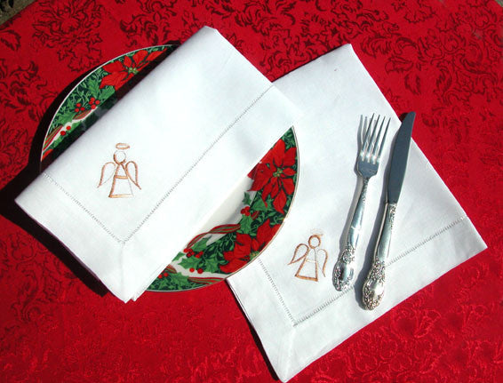 "Angel Dinner Napkin 22"" Inch"