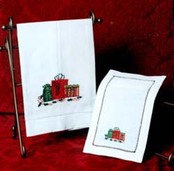 Christmas Gifts Box Cocktail Napkin 6x9 Inch