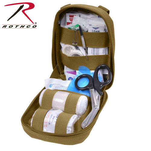 Rothco Coyote Brown MOLLE Tactical Trauma Kit - Phalanx Gear Solutions, LLC