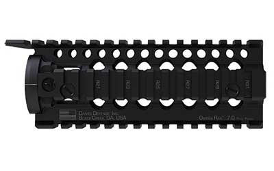 Dd Omega Carbine Rail 7.0 Black