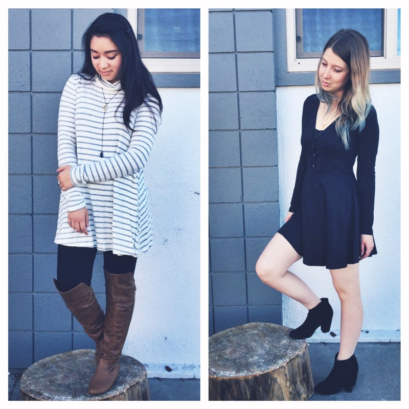 Friday Faves - Stripes and Suede