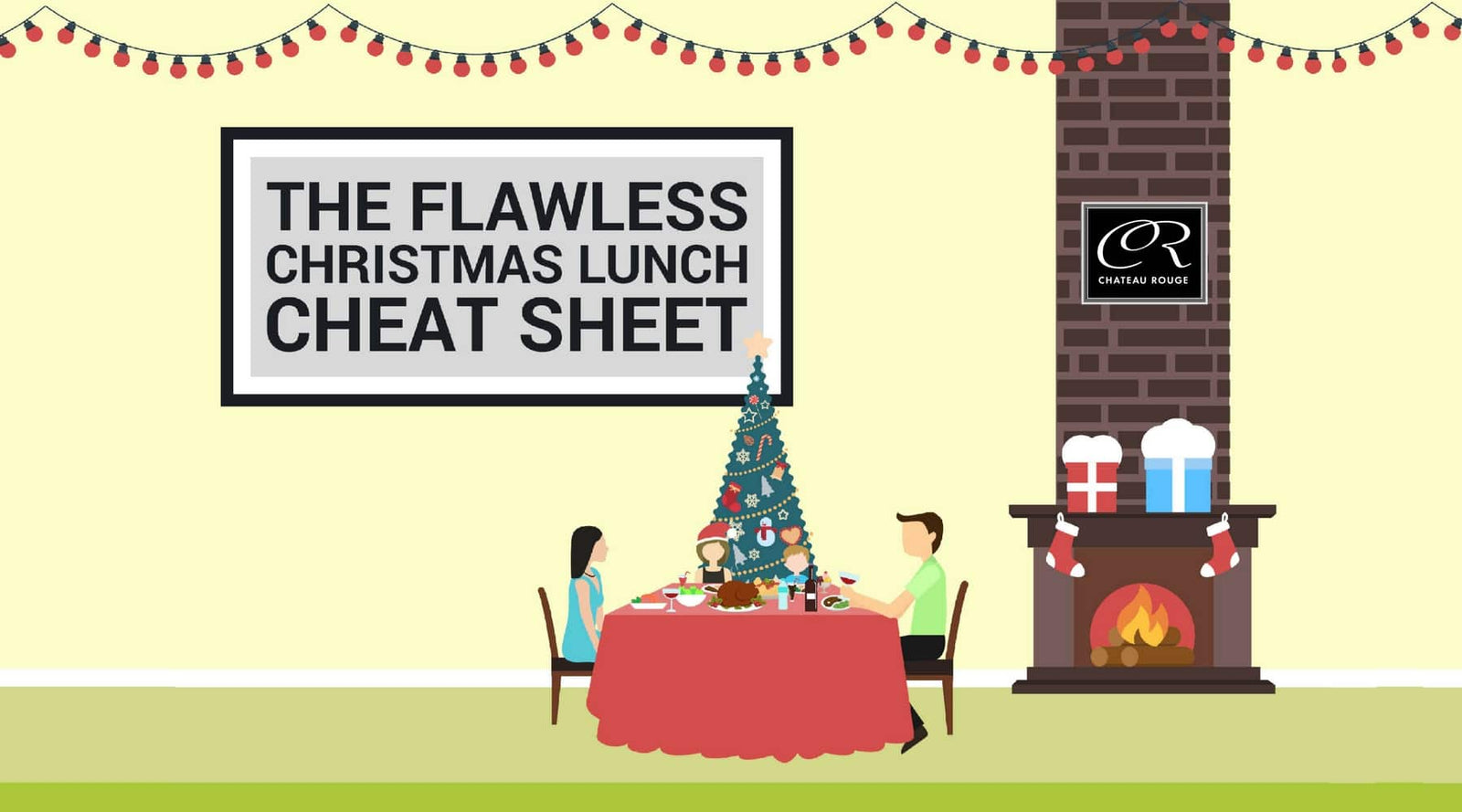 Christmas Lunch {Stress Free} Cheat Sheet - Chateau Rouge