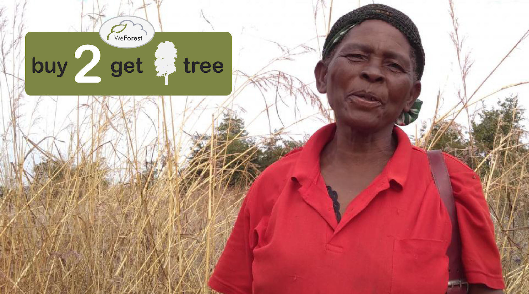 Why we support WeForest - plant 1 Tree for Every 2 Products sold