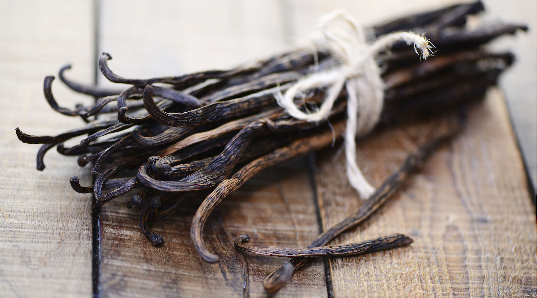 organic vanilla pods from Madagascar