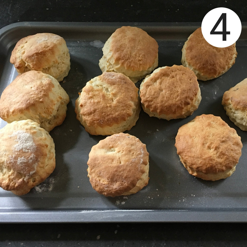 Chateau Rouge Fine Foods_Perfect Quick & Easy Scones Recipe for Afternoon Tea_fresh scones