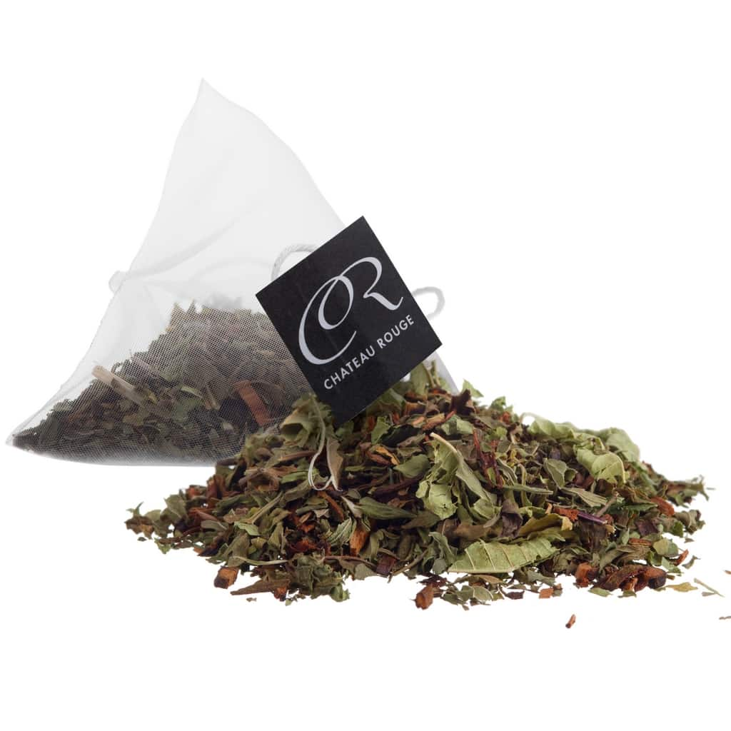 Chateau Rouge Gourmet Fine Foods UK_Organic peppermint herbal tea bags