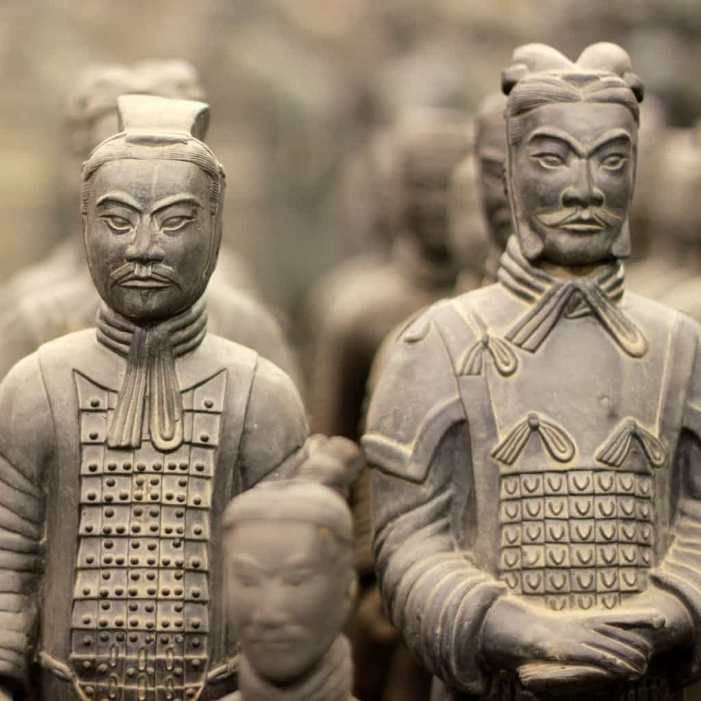 Terracotta warriors and the essential periods in the Chinese history of green tea with Chateau Rouge Fine Foods UK